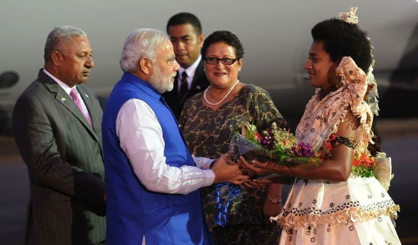 Modi in Fiji: announces visa on arrival, cooperation in space