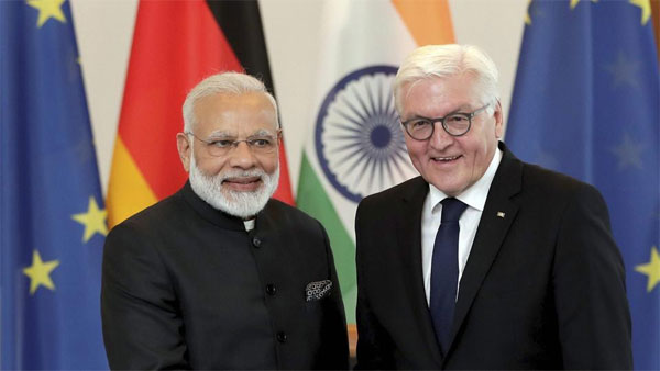 PM meets German President, wraps up first leg of 4-nation tour