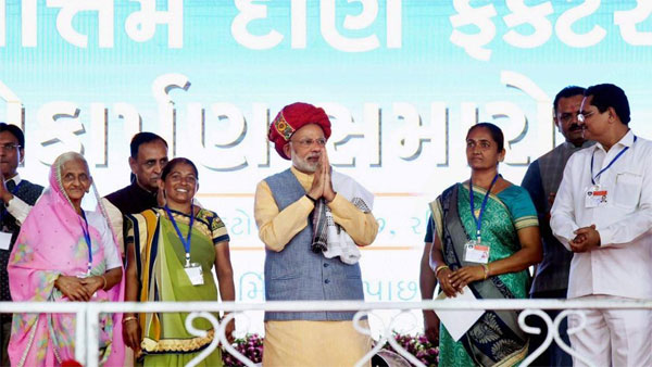 Words of PM Modi in Gujarat poll campaigns