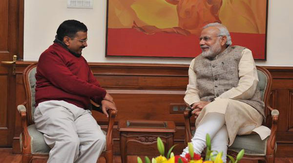 Allow us to work, Kejriwal tells Modi