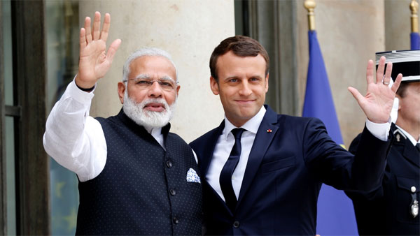 India, France to jointly work on climate change, combating terrorism