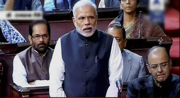 Modi hints at changes in land bill, denounces Sayeed remarks