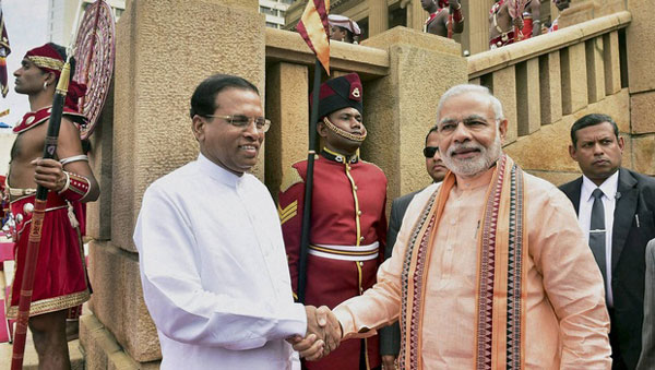 Modi asks Colombo to embrace Tamils, wants stronger ties