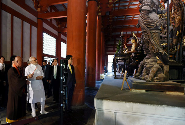 Modi seeks Japans help in skill development