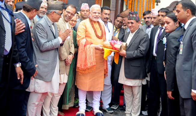 Modi prays at Pashupatinath, offers 2,500 kg of sandalwood