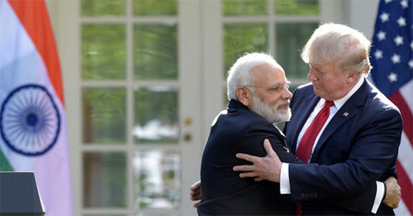 Modi, Trump call for respecting sovereignty while boosting connectivity