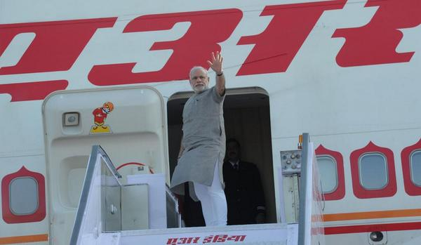 Defused grenade found on aircraft kept as standby for Modi