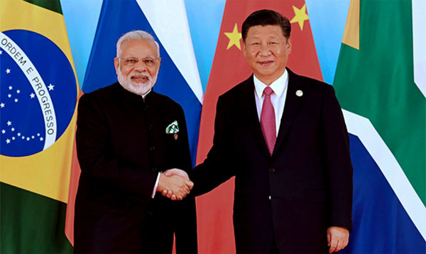 Modi, Xi hold first substantive bilateral meeting post-Dokalam