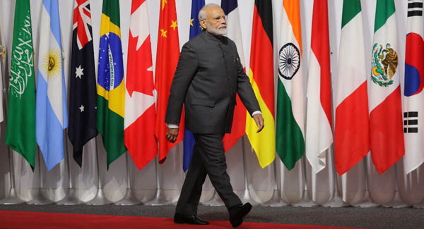 Terrorism biggest threat to humanity: PM Modi tells BRICS leaders in Osaka