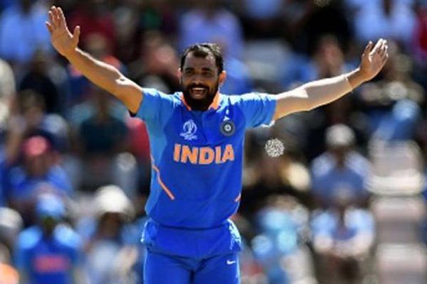 Shami thanks Dhoni, Bumrah after hat-trick show