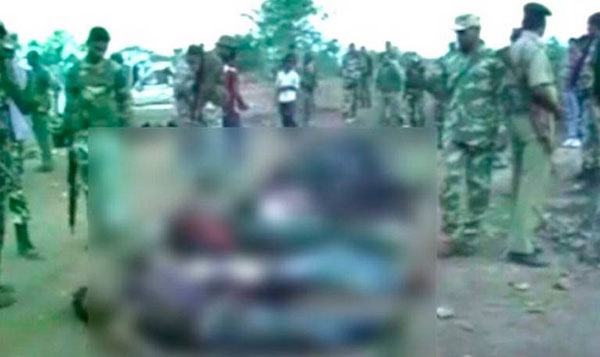 12 Maoists killed in Jharkhand