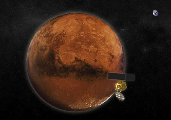 Martian orbit on Indian spacecrafts radar Wednesday
