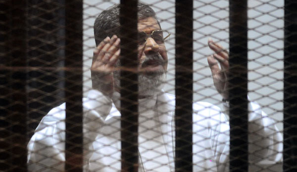 Former Egyptian president Morsi sentenced to death