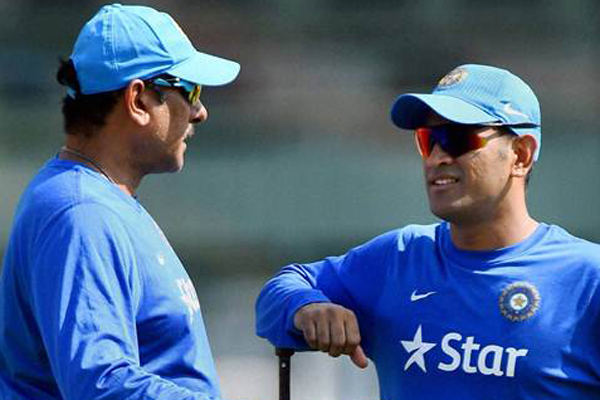 If Dhoni decides he is good enough to continue, dont mess around with that: Shastri