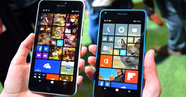Microsoft unveils two smartphone models for Indian market