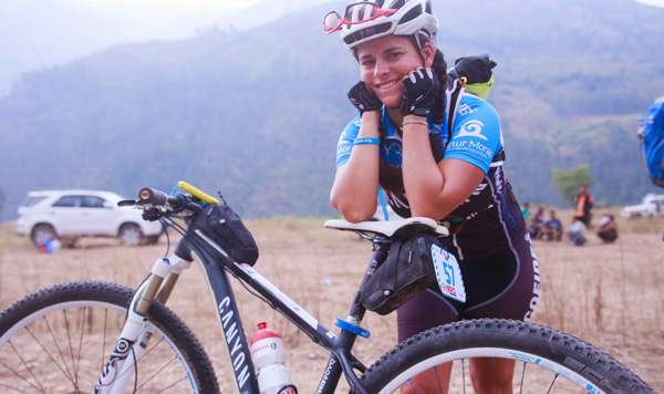 These women mountain bikers are on a roll