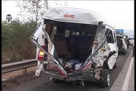27 killed in road accident on Mumbai-Pune Expressway