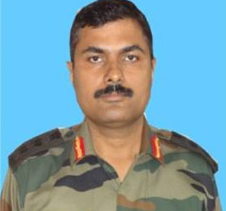 Army officer killed in Kashmir a day after getting medal
