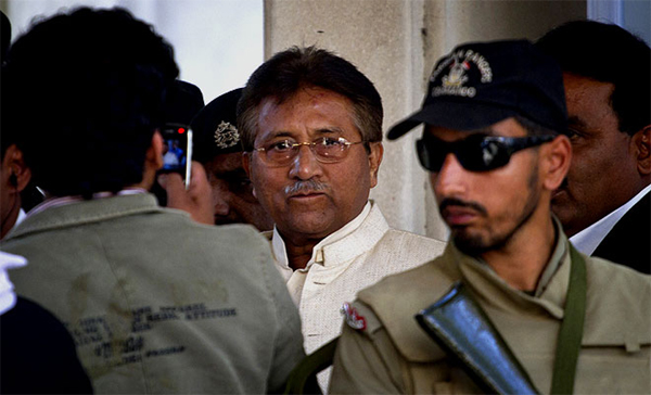 Ready to face trial if army provides security: Musharraf