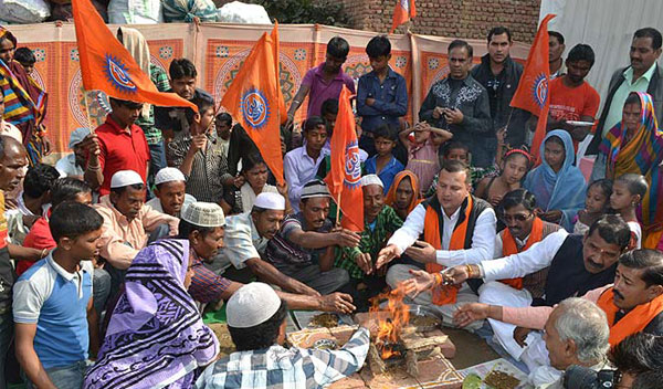 Muslim conversions in Agra: Opposition targets govt, FIR registered against RSS