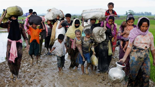 Indonesia asks Mymanmar to protect Rohingyas