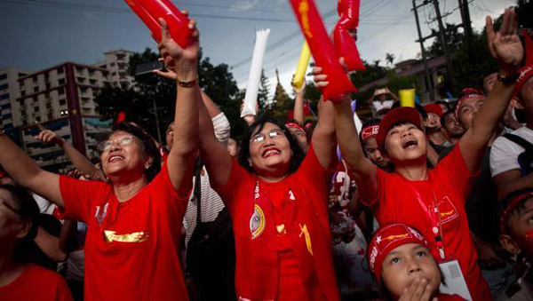 Myanmar opposition secures 536 parliamentary seats