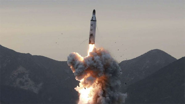 After US warns N.Korea military action on table, Pyongyang tests missile