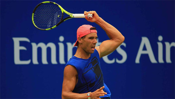 World No.1 Nadal starts US Open with comfortable win