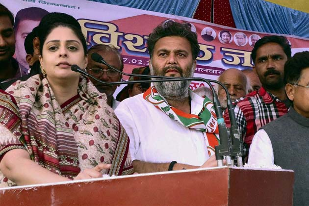 Not celebrity status, will woo voters with hard work: Nagma