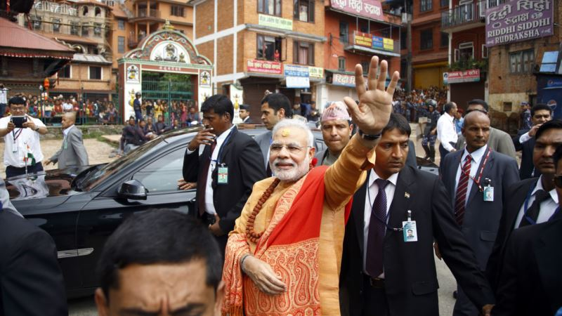 After winning hearts, Modi ends historic Nepal visit