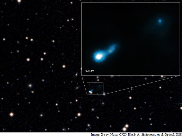 Nasas Chandra X-Ray Observatory spots oldest light in the universe