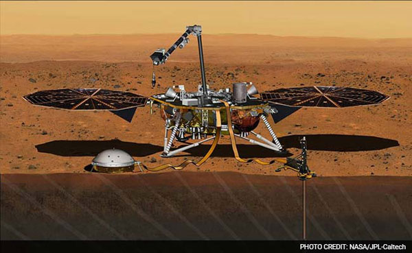 NASAs new Mars exploration mission set for May 2018 launch