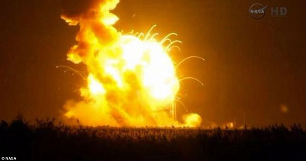 NASA cargo spacecraft explodes minutes after launch