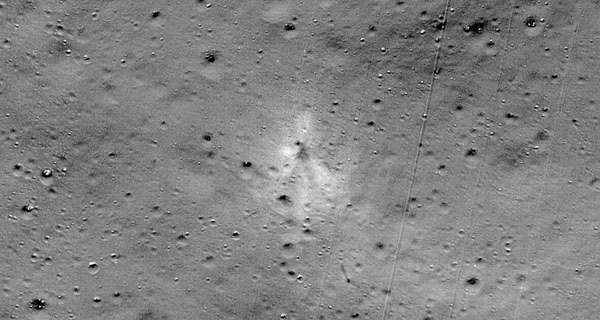 NASA finds Vikram moon landers debris