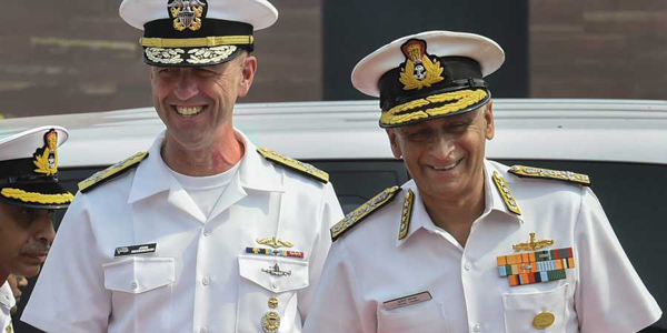 US Naval chief in India, meets Admiral Lanba