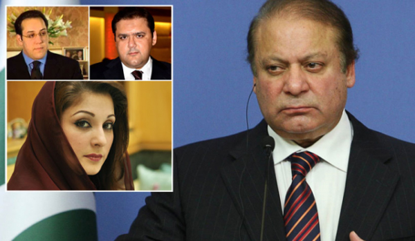 Sharif to face indictment Oct 9, non-bailable warrants issued for children