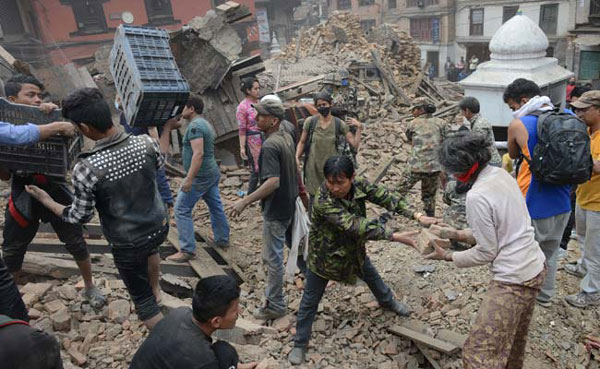 Saudis send 190 tonnes of relief material to Nepal