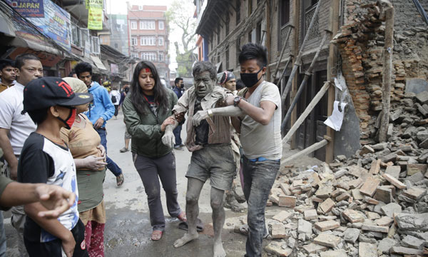 Nepal death toll rises to 8,413