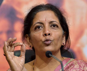 US not against Indias stand on WTO: Nirmala