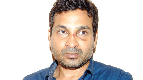 Kaapa slapped on Muhammed Nisham