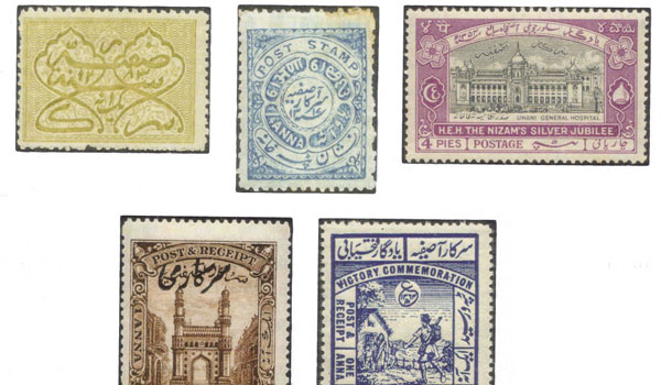 Stamps from Hyderabad Nizams era on first-ever show