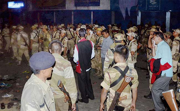 Situation under control in Dimapur, 43 arrests made