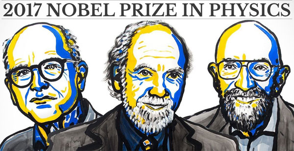 Nobel prize in physics goes to discovery of gravitational waves
