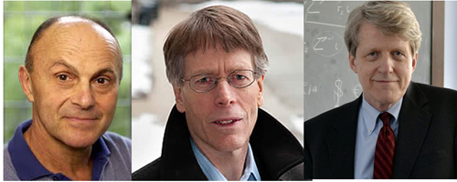 Three US economists win Nobel prize for economics