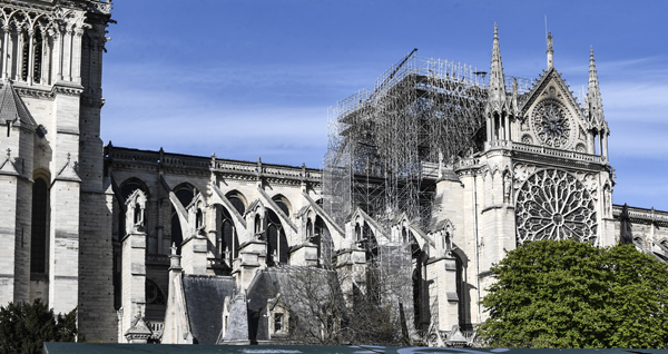 Worry over modern art thing on rebuilt Notre-Dame