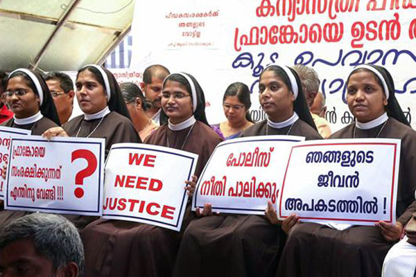 Ensure safety of nuns who protested againstb rape-accused bishop: NCW to Pinarayi Vijayan