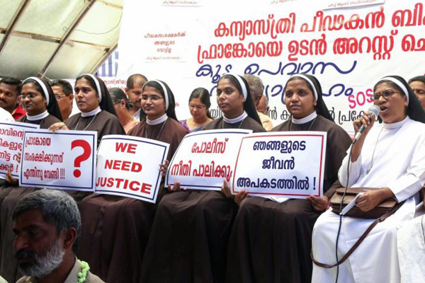 Nuns who protested against bishop transferred; wont go, they say