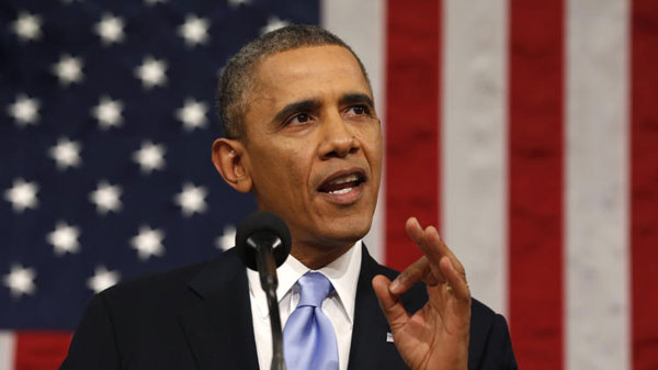 Obama says theres no excuse for criminal acts at Ferguson