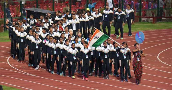 India finish on top at Asian athletics meet