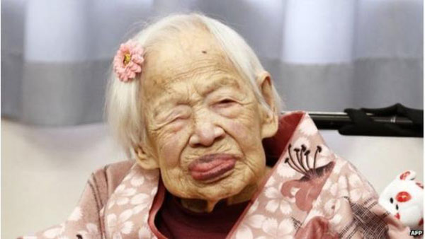 Worlds oldest person dies in Japan aged 117